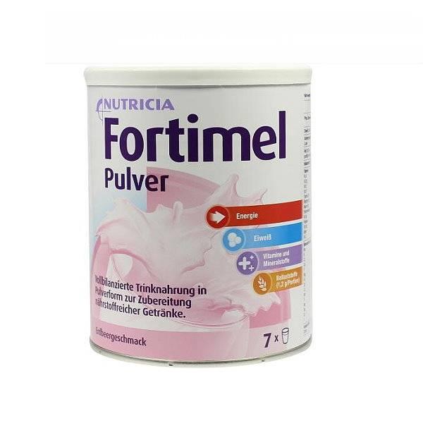Fortimel Pulver mit hochwertigem Eiweiß | Pfrimmer Nutricia