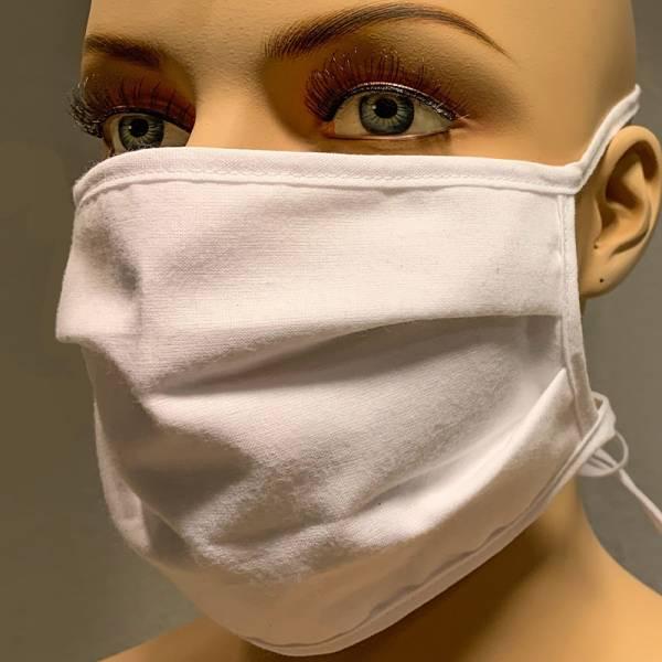 Mund- und Nasenmaske | Mundschutz - Behelfsmaske aus Stoff