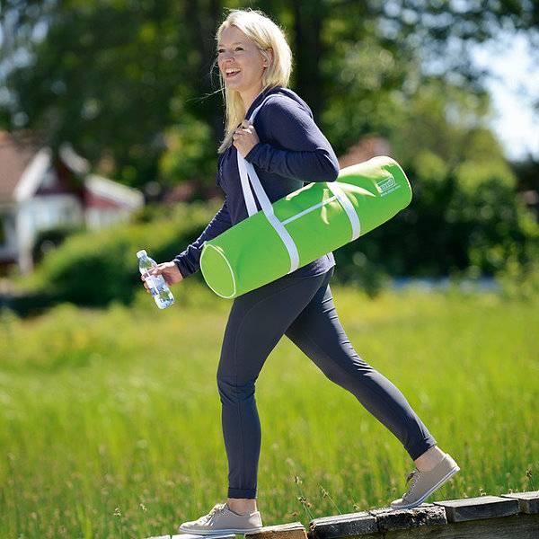 Tragetasche oder Tragegurt für Ihre Yoga- und Gymnastikmatte
