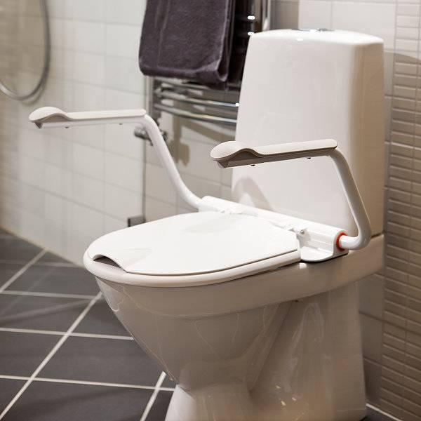 Armlehnen für die Toilette - Supporter