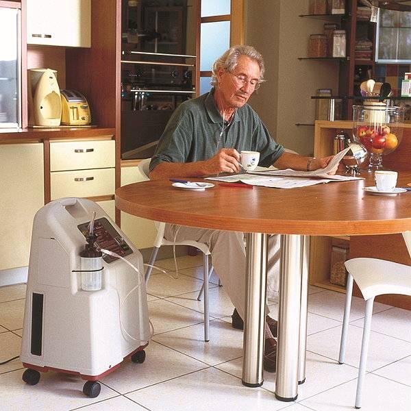 Sauerstoffkonzentrator mit besonders hoher Leistung Platinum 9
