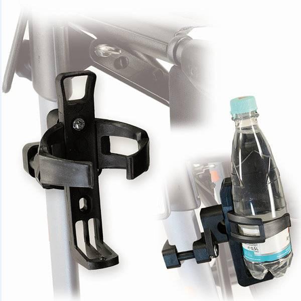 Getränkehalter für Standardrollstühle und Rollatoren