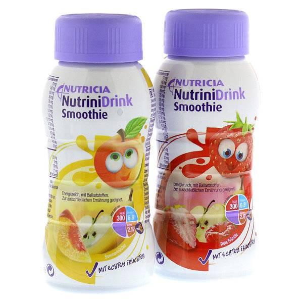NutriniDrink Smoothie für Kinder mit Mukoviszidose | Pfrimmer Nutricia