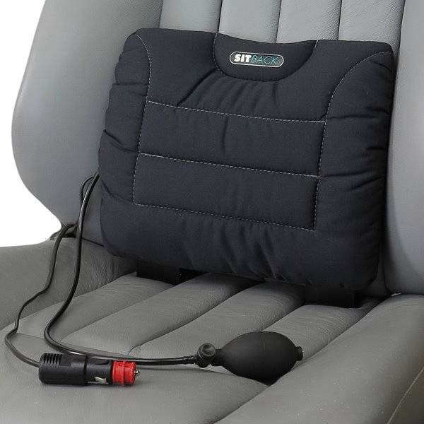 Auto-Lordosekissen Sitback Air mit Heizung