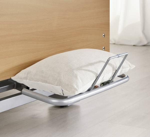 Bettzeugablage für Premium-Pflegebett Regia