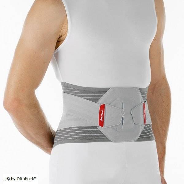 Rückenbandage Lumbo Direxa für große Größen