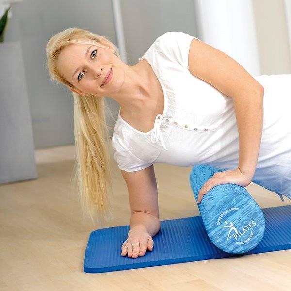 Extra weicher Pilates Roller - Ideal für Anfänger