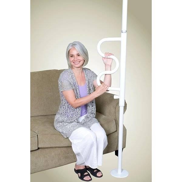 Boden-Deckenstange Pole mit Griff