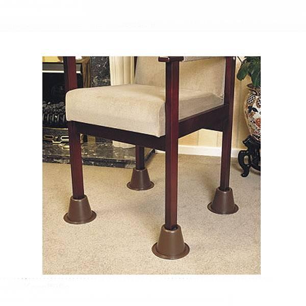 Tisch- und Stuhlerhöhung in Kegelform