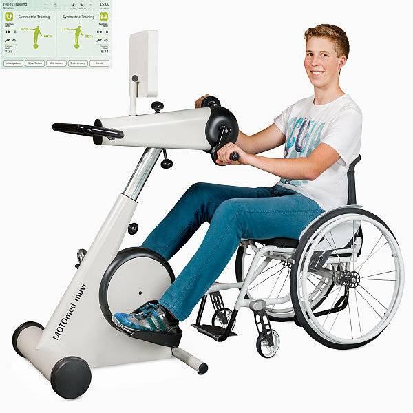 Bewegungstrainer MOTOmed muvi mit großem Touch-Display