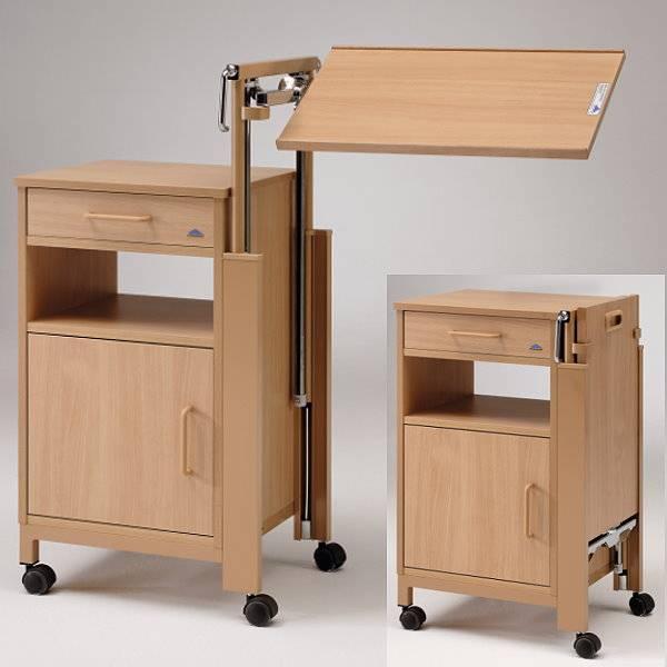 Nachttisch Cherusker Mit Tischplatte Betttisch Pflegebetten