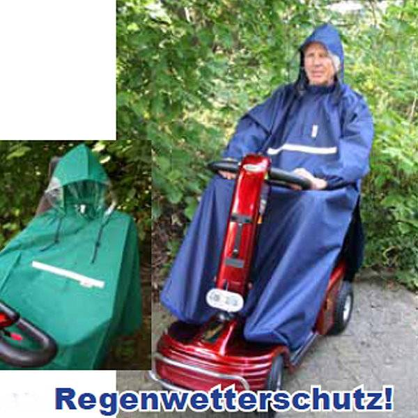 Scooter-Regencape aus Nylonmaterial