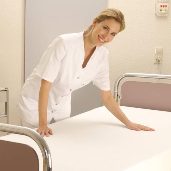 Bettschutz als Spannbettlaken bei Inkontinenz Wewa Care Premium