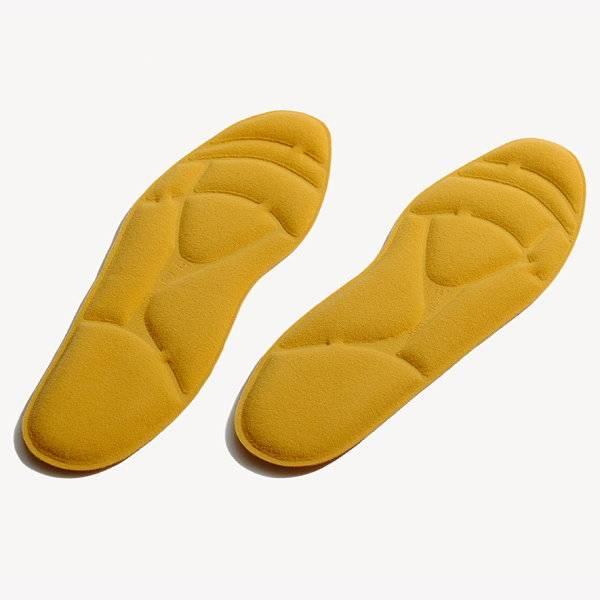 Schuheinlegesohle mit Luftpolstern zur Stoßabsorption