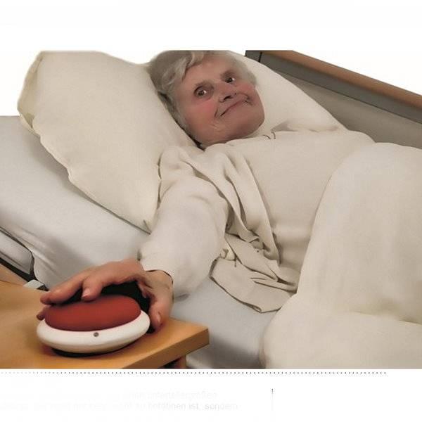 Notruf-Großtaster für Senioren
