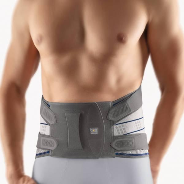 StabiloPlus Rückenbandage zur Entlastung der Lendenwirbelsäule