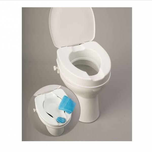 Toilettensitzerhöher für jedes Standard-Toilettenbecken inklusive Bidet