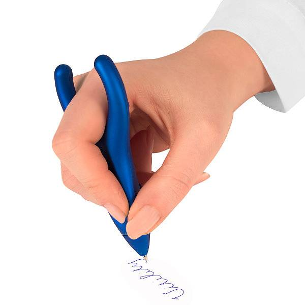 PenAgain Ergonomischer Kugelschreiber für Hand & Mund
