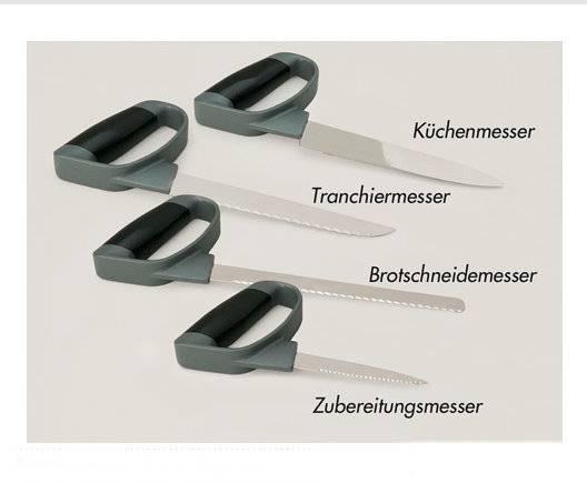 Reflexmesser Küchenmesser mit geschlossenem Handgriff