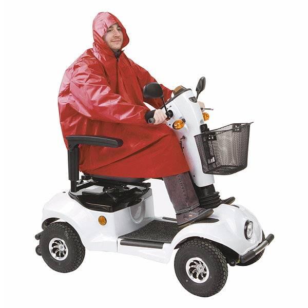 Regenjacke für Fahrer von Elektroscootern