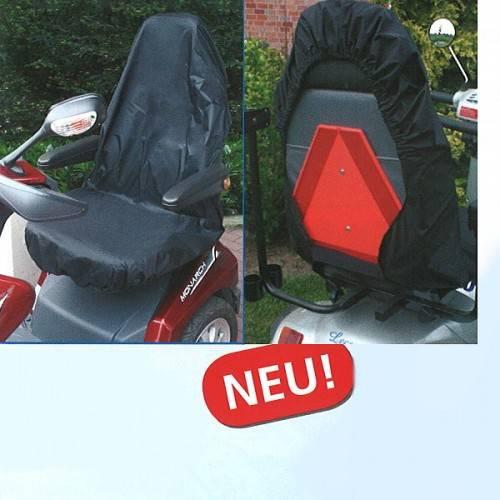Scooter-Sitzschutz bei Regen