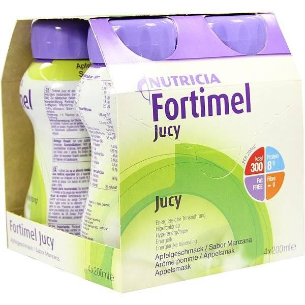 Fortimel Jucy mit hochkalorischem Charakter | Pfrimmer Nutricia