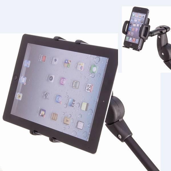 Handy- und Tablethalterung 85 für den Rollstuhl