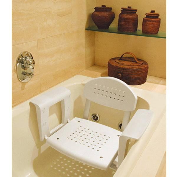 Profilo Comfort Badewannensitz mit tiefenverstellbarer Rückenlehne
