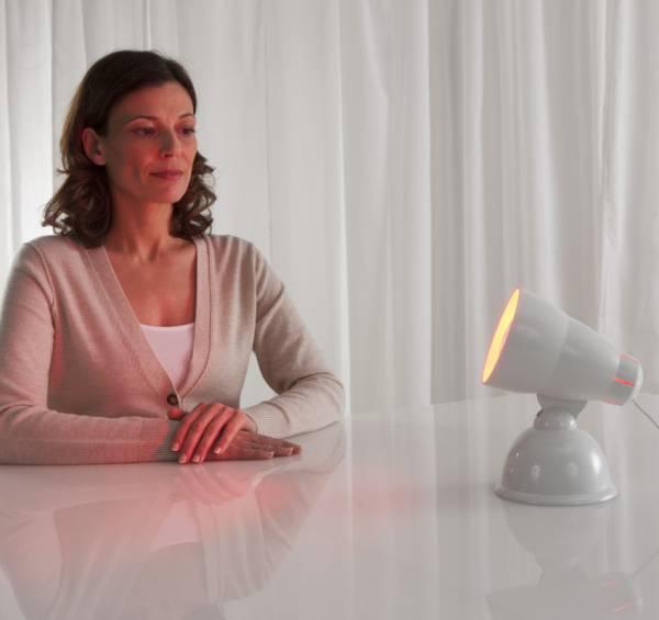 Infrarotlampe IRH zur Entspannung der Muskulatur
