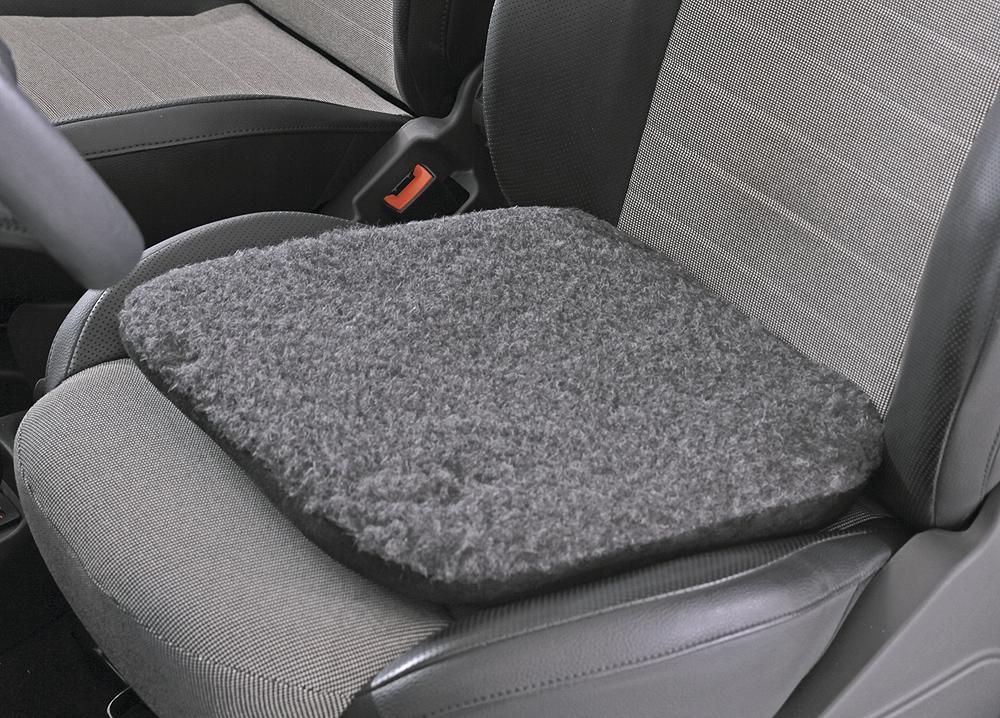 sitty mobil fell keilkissen f r auto oder stuhl sitzkissen r ckenkissen gesund sitzen. Black Bedroom Furniture Sets. Home Design Ideas