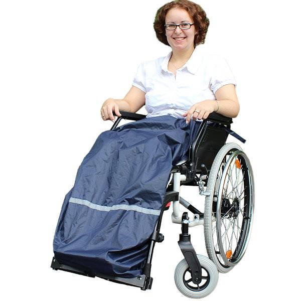 Rollstuhl-Regenschürze rainPro für die Beine
