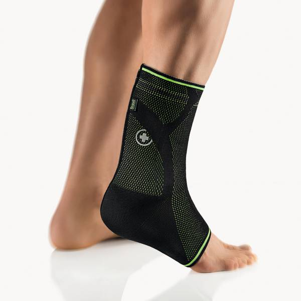 Achillessehnenbandage AchilloStabil Plus Sport schwarz-grün