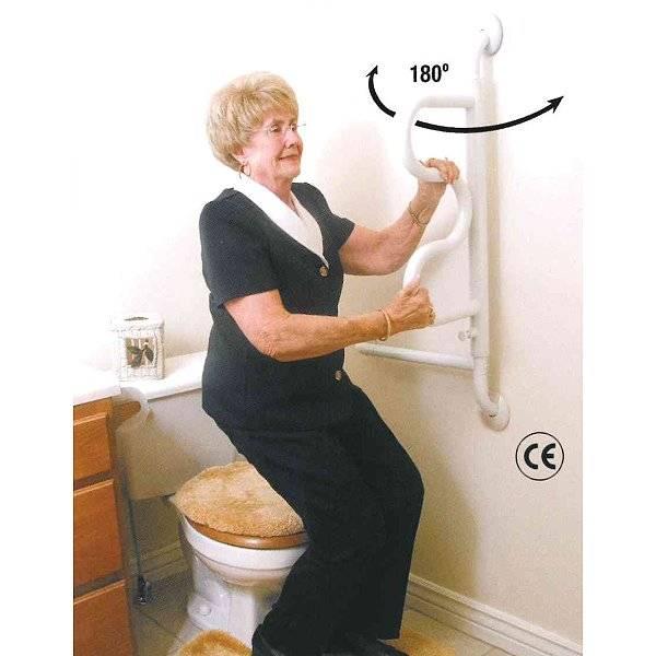 """Wandhaltestange """"La Ola"""" als Sicherheit für das Bad"""