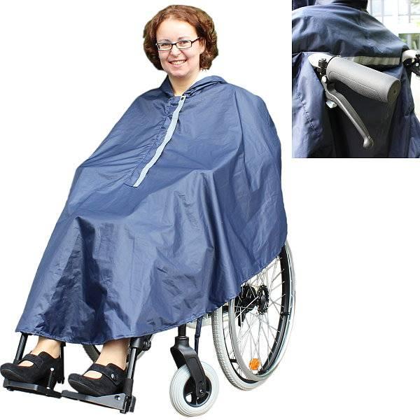 Rollstuhl-Poncho / Regencape für Rollstuhlfahrer