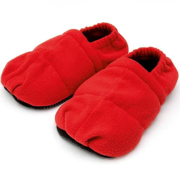 Wärme-Hausschuhe zur Erwärmung in der Mikrowelle - Linum Relax Comfort