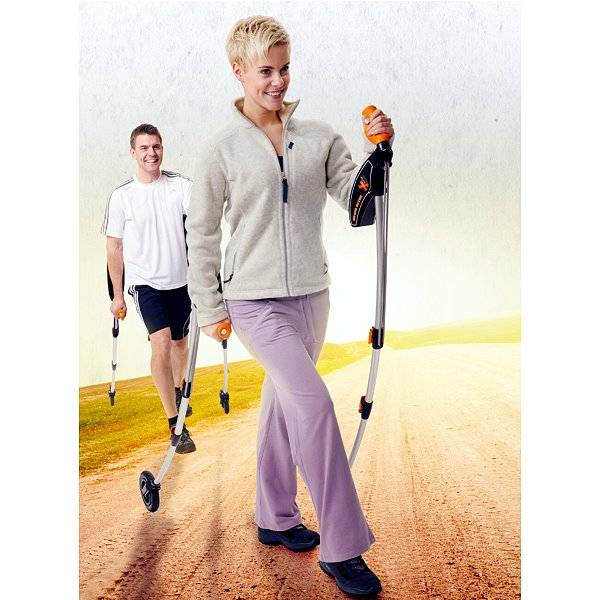 Cross-Shaper - das bessere Nordic Walking Training!
