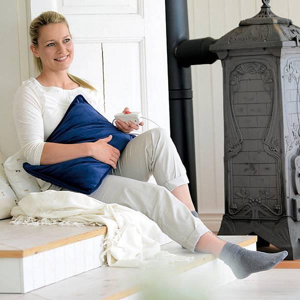 Elektrisches Heizkissen, flauschig weich – Heating Pillow