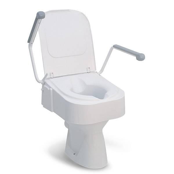 Toilettensitzerhöhung TSE 150 mit integrierter Brille