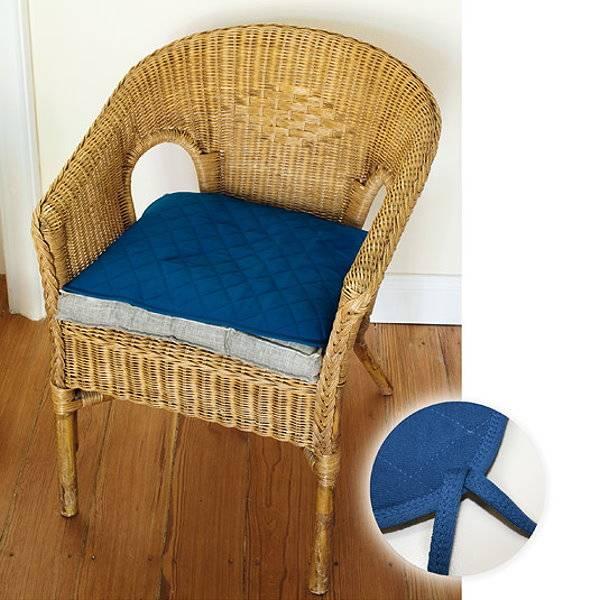 Saugfähige Sitzauflage bei Inkontinenz