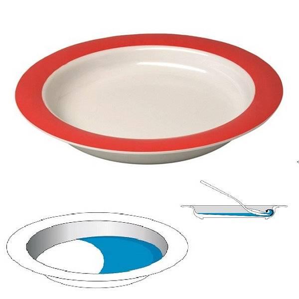 Ornamin Teller/Schale Vital mit Anti-Rutsch-Funktion