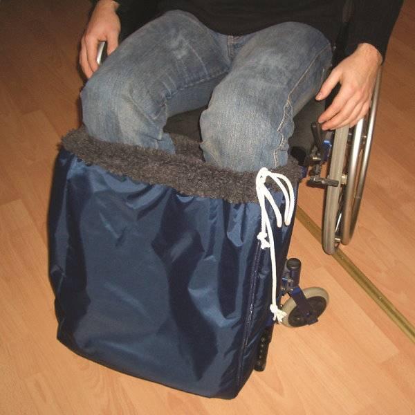 Fuß-Schlupfsack für Rollstuhlfahrer