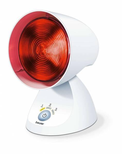 Beurer Infrarotlampe IL 35 - Rotlichtlampe mit Timer