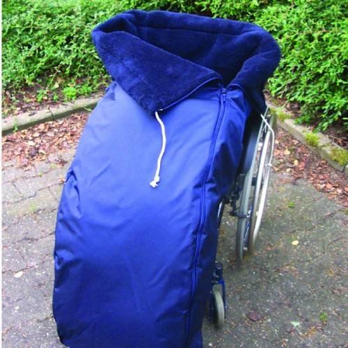 Webpelz-Schlupfsack für Rollstuhlfahrer