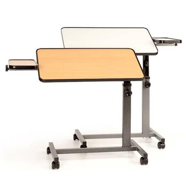 Beistell-Betttisch De Luxe mit extra großer Tischplatte