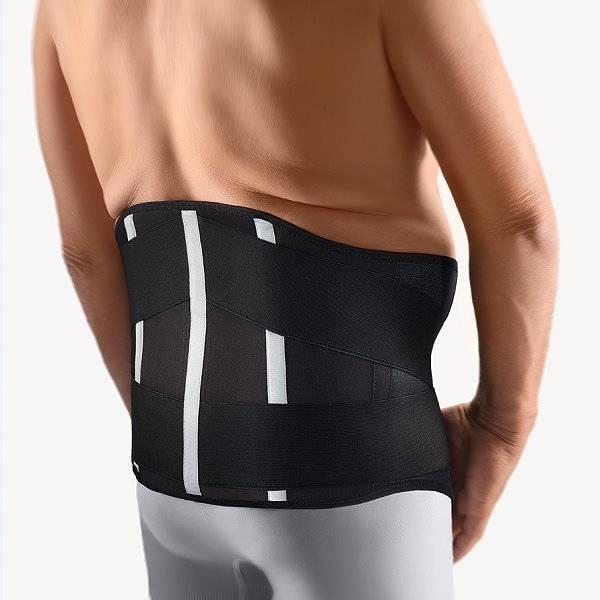 Spezial-Rückenbandage VarioPlus für kräftig gebaute Menschen