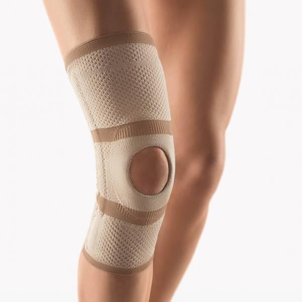 Kniebandage mit Patella-Aussparung