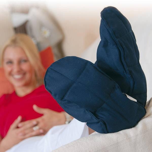 Wärmeschuhe Linum Relax gegen kalte Füße