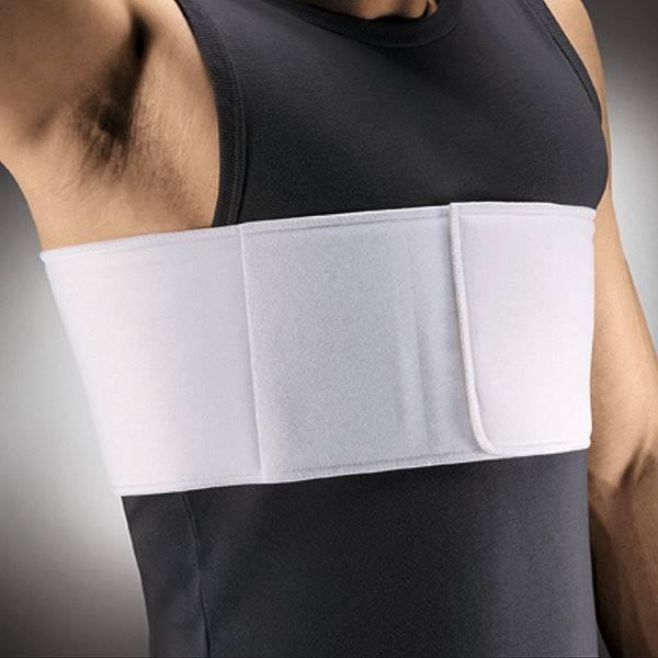 Rippengürtel für Männer mit Klettverschluss