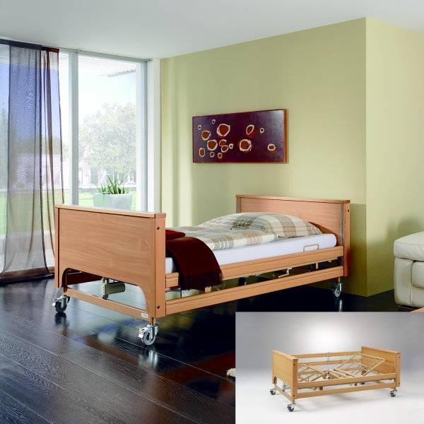 Schwerlast-Pflegebett GIGANT II