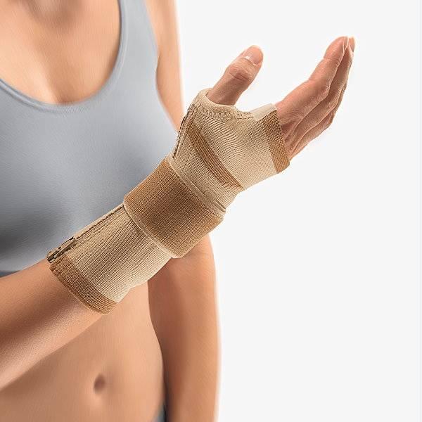 Handgelenkbandage mit Reißverschluss ManuZip Eco